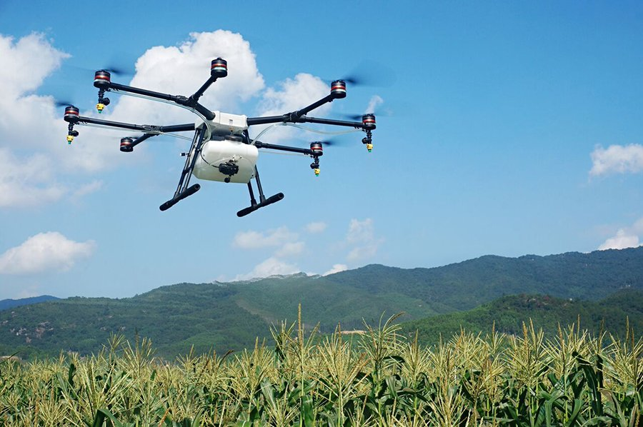 DJi's New Crop Spraying Drone