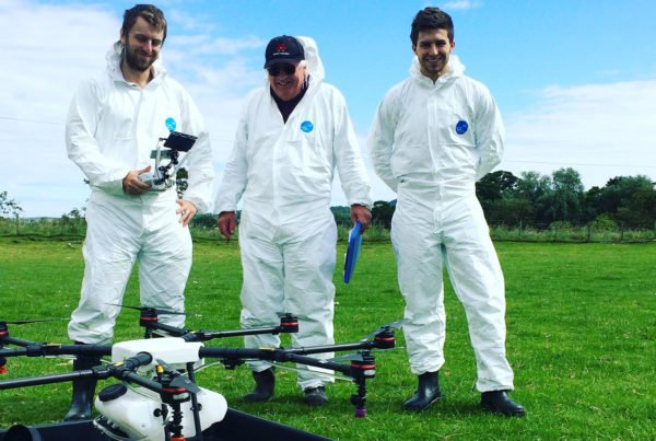 Drone Spraying Qualification passed