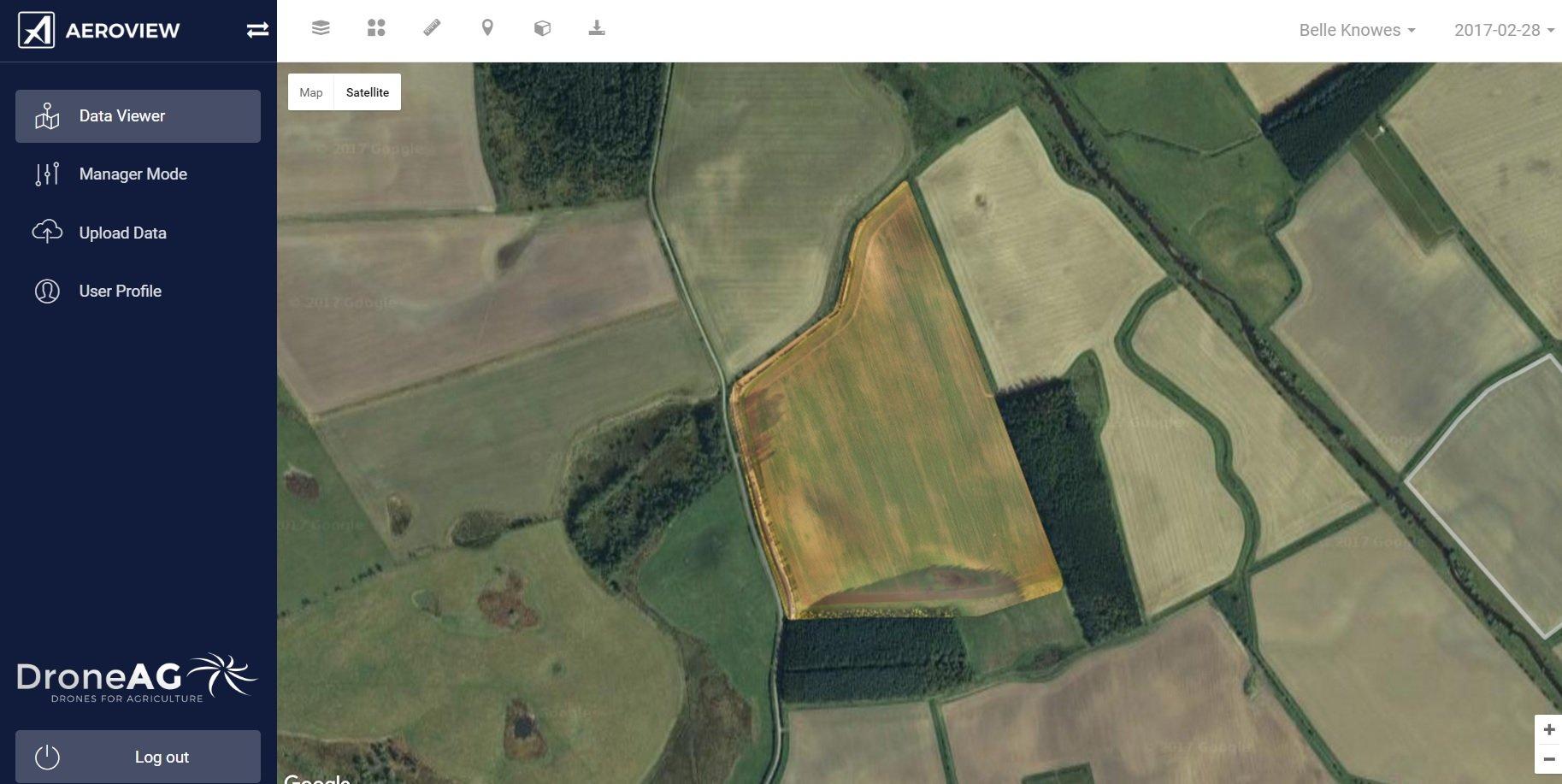 rtk based drone map