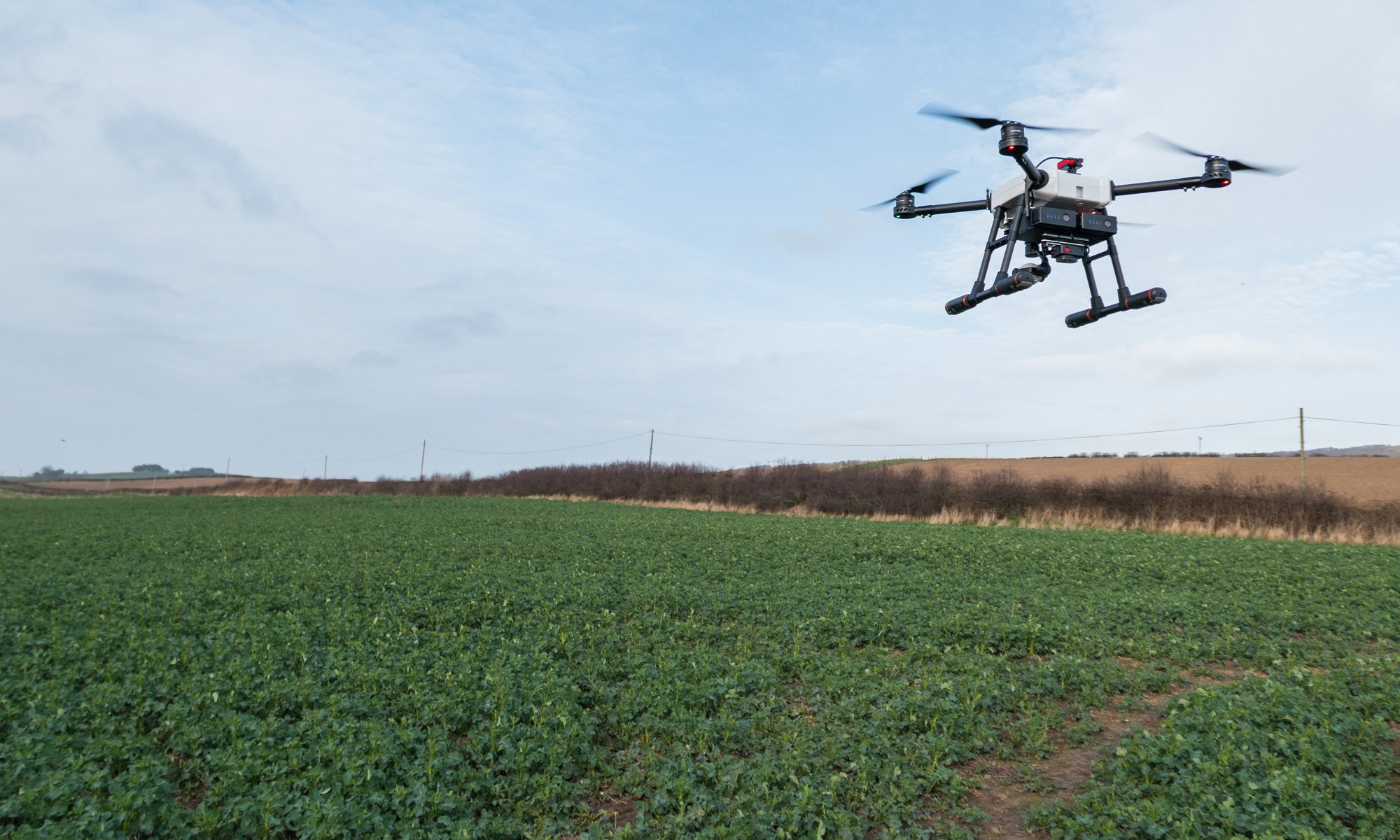 Storm Agriculture Drone over field