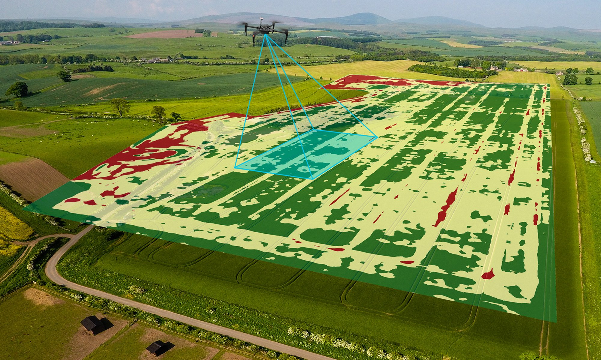 drones for mapping agriculture prescriptions
