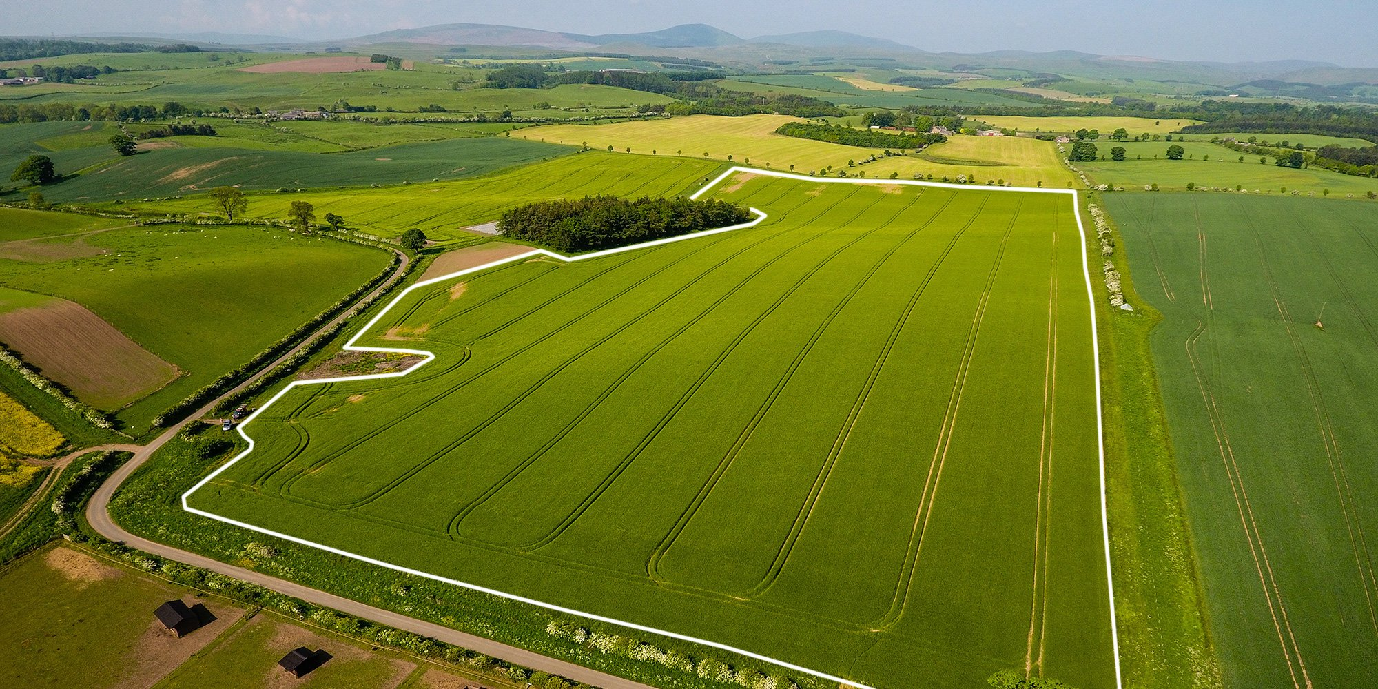 rtk drone field boundary mapping