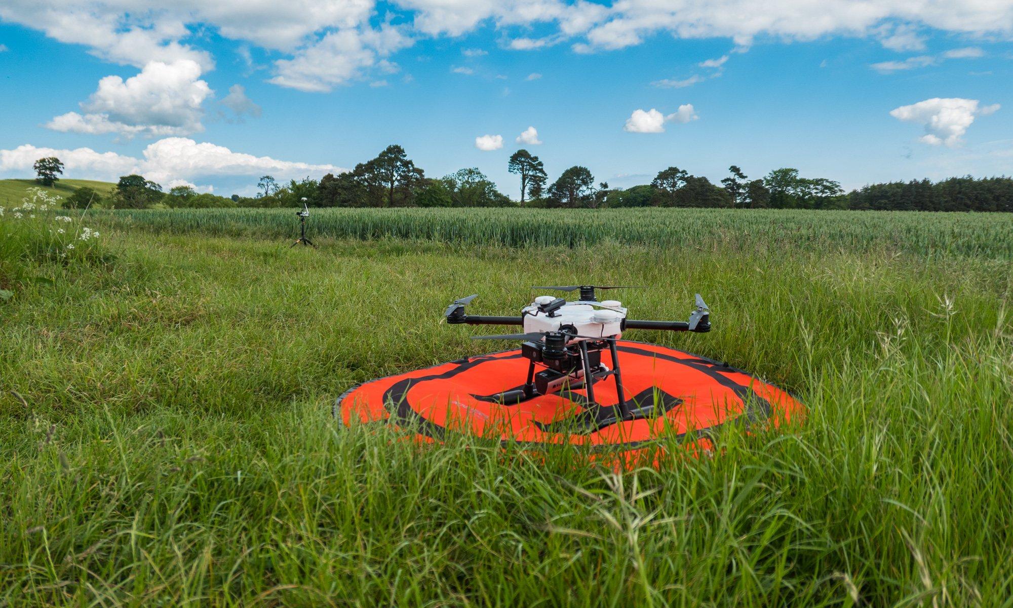 Multispectral Slantrange 3P with RTK drone