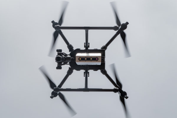 M200 Multispectral Mapping Drone Overhead