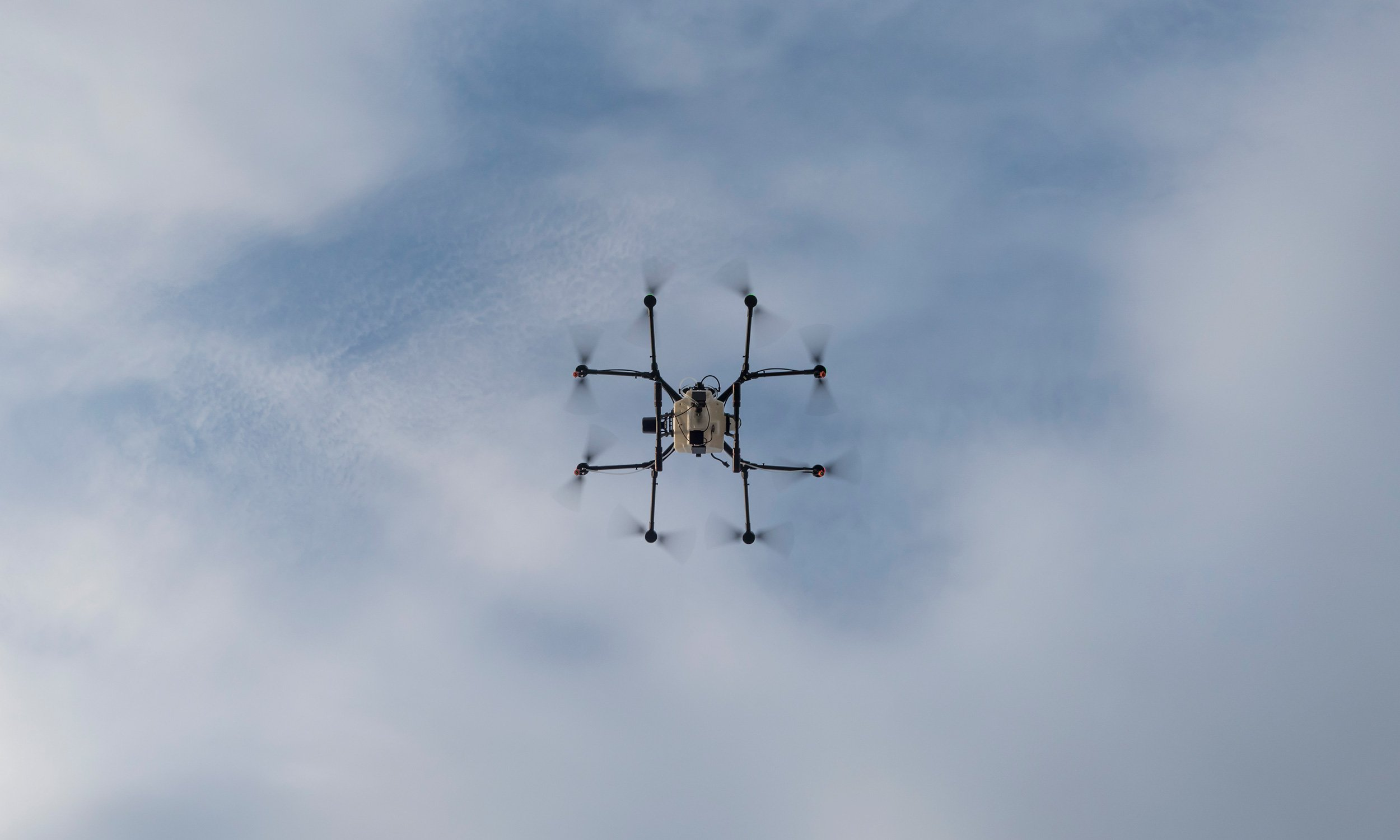 Drone Spraying Systems and Services from Drone AG