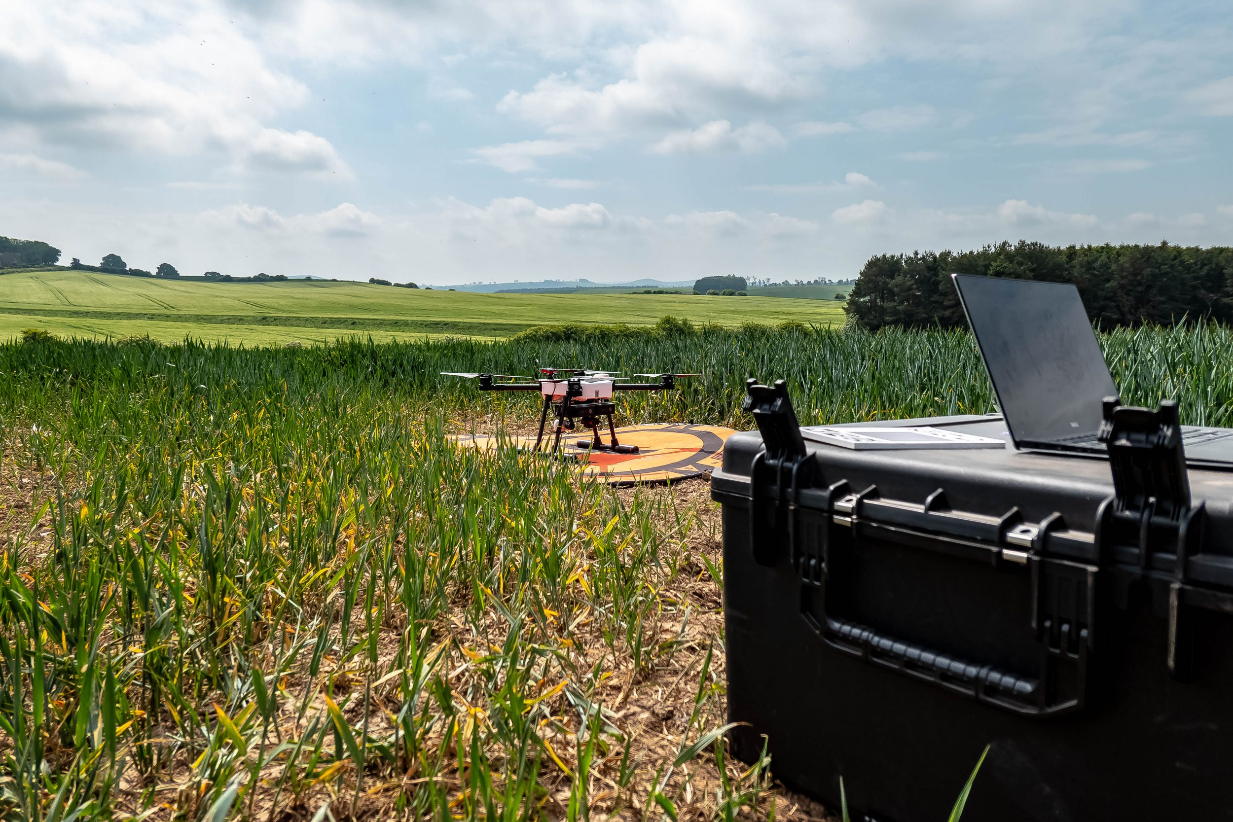 Online Drone Training for Agriculture