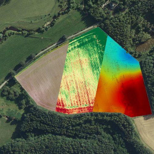 Field Establishment and Terrain Map