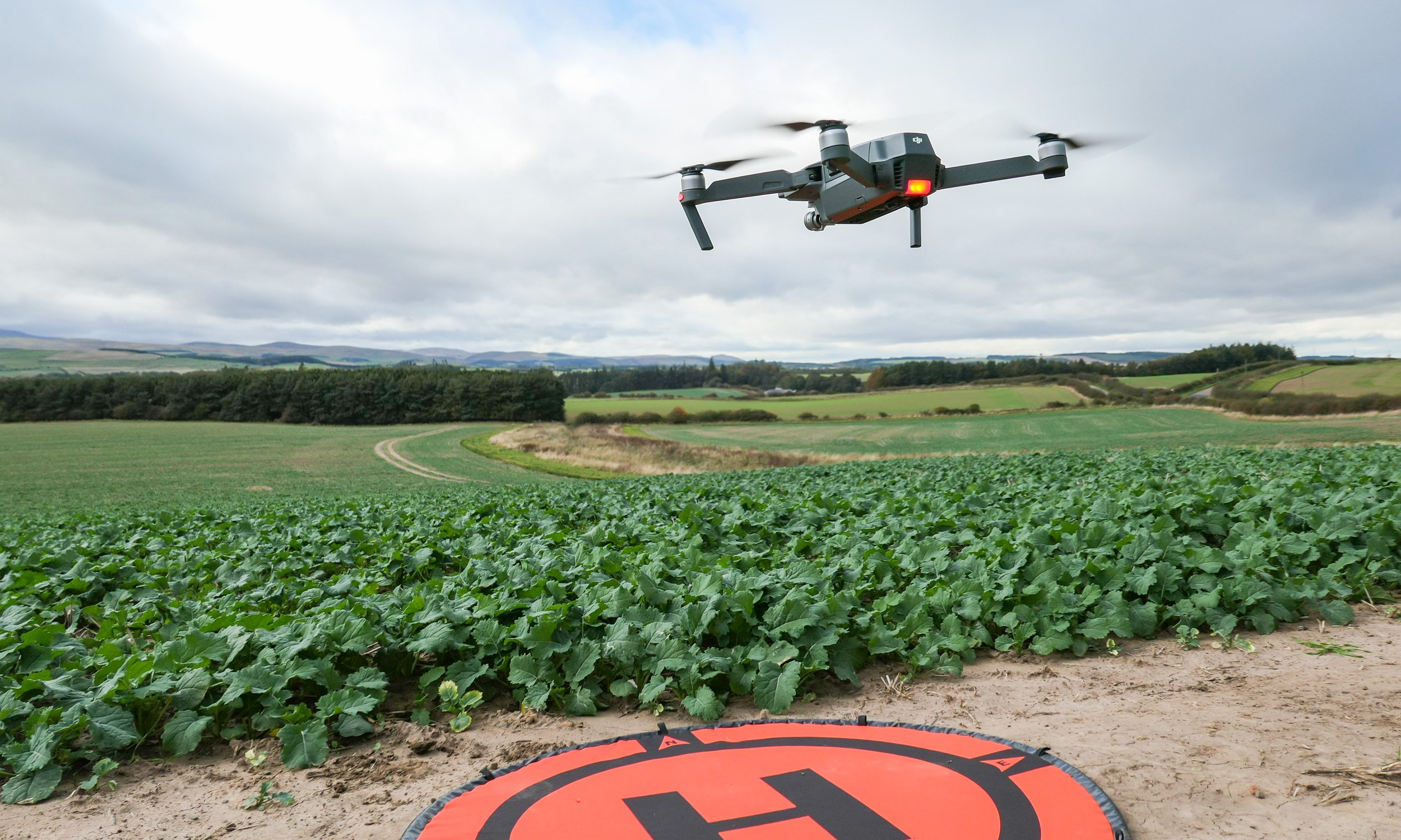 Using Your Farm Drone: A Newbies Perspective