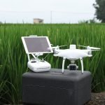 DJI P4 Multispectral agriculture drone and controller